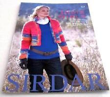 SIRDAR INDIE GIRLS knitting yarn pattern book #424 Women and Girls 12 designs