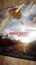 WORLD INVASION !  affiche cinema
