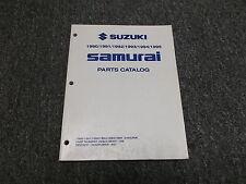1990 Suzuki Samurai Parts Catalog Manual Convertible 1991 1992 1993 1994 1995