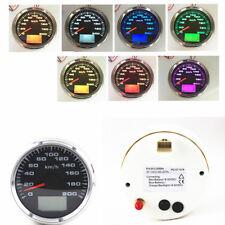 7 Colors Backlight LCD Speed Odometers GPS Speedometer Odometers 9-32V Universal