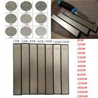 80-3000 Grit Kitchen Diamond Sharpener Angle Sharpening Stone Whetstone Tools