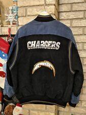 San Diego Chargers Vintage Suede Jacket