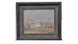 1937 Canadian Group Of Painters. Stanley Cosgrove Painting. Signed