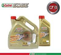5 LT OLIO MOTORE CASTROL EDGE 5W30 FST TAGLIANDO LONGLIFE (LL) 504.00 507.00