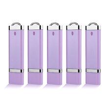 5X 16GB Lighter USB 3.0 Flash Drive Memory Stick Storage Thumb Pen Drive Purple