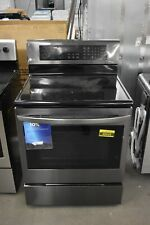 "Lg Lre3194Bd 30"" Black Stainless Freestanding Electric Range Nob #48669 Hrt"