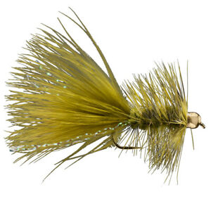 Rio Flies BH Wooly Bugger - 6 per Pack - Free Shipping Options