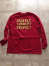 "John Cena WWE ""Hustle Loyalty Respect"" Long Sleeve T-Shirt Medium Brand New"