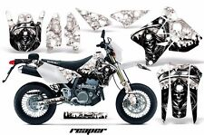 AMR Racing Suzuki Graphic Kit Bike Decal DRZ 400 SM Decal MX Part 00-15 REAPER W