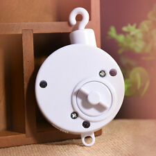 Baby Toddler Mobile Crib Bed Toy Clockwork Movement Music Box Infant Bell Hanger