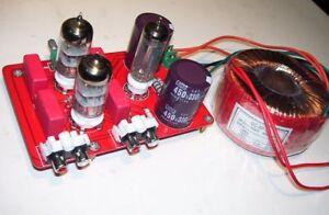 Kit preamplificatore valvolare stereo HI-FI