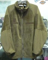 DSCP US ARMY FLEECE JACKET POLARTEC OCP MULTICAM BROWN COLD WEATHER  NEW - Med