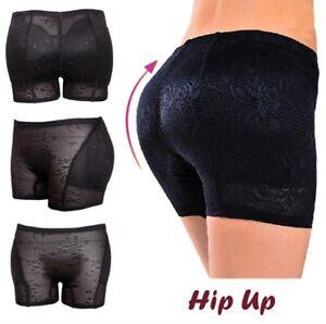 Women Fake Ass Seamless Jacquard Shapewear Hip and Bum Padded Lift Pants Shaper
