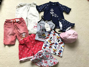 Girls Summer Size 2-3, Incl,. Miffy Mickey & Swimming Set ..& More ...