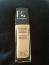 ⭐MAYBELLINE Fit Me Liquid Foundation (Glass) 30ml - 250 sun beige - NEW