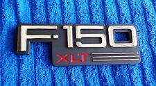 NOS NEW 92-97 OEM FoMoCo Ford F150 XLT Front Fender Emblem Ornament Nameplate