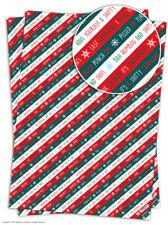Brainbox Candy Navidad papel de envolver envoltorio regalo 2 Láminas
