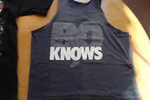 🏈 NIKE Bo Jackson KNOWS 1990s T-Shirt MED Tanktop VINTAGE classic RARE Raiders