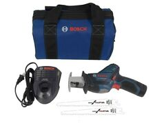 Bosch Ps60 12V Max Li-Ion Pocket Reciprocating Saw with Two 6-inch Blades & Bag