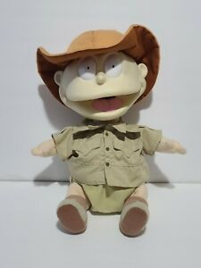 Vintage 1998 Rugrats Movie Safari Nickelodeon Tommy Pickles Plush Doll TESTED