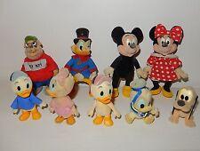 LOt 9 figurines DISNEY Family MICKEY Raptou Picsou Donald bébés SIMBA Vintage 80