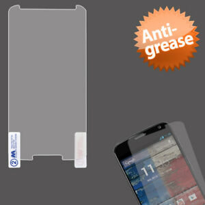 Clear Anti-Grease Screen Protector Cover Film w/Cloth for Motorola X+1
