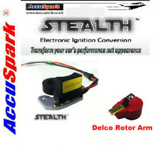 Vauxhall Viva HA,HB, HC Stealth Electronic ignition for DELCO + Red Rotor Arm