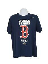 Nike Dri-Fit Boston Red Sox World Series 2013 T-Shirt Men's L Mlb Baseball A39