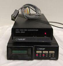 Black box Motorola V.3400 Black Box Modem  & 232-422/485 Data Converter