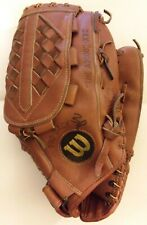 """WILSON The A2000 XXC Leather Pre-Softened Softball Glove JAPAN 13"""" Vintage fr/sh"""