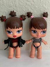 Bratz Babyz Girlz Girl Twin Twiins Dolls Roxxi & Phoebe Original Clothes Rare