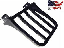 NEW LUGGAGE RACK BLACK HARLEY SOFTAIL REAR CARRIER FLSTF FLSTC FLSTS FXSTS FXSTB