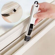 Multipurpose Window Groove Cleaning Brush Dustpan Crevice Dusting Car Cleaner