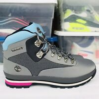 Timberland Euro Hiker Boots Gray/Blue black pink A2274 A3949 Men's Size 11 New