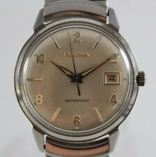 VTG 1964 M4 Bulova Manual Wind 17 Jewels Cal.11ALCD Mens Watch Near Mint LOT#819