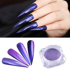 1G Mirror Purple Mermaid Nail Powder Born Pretty Nail Art Chrome Pigment Glitter