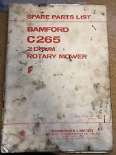 Bamfords C265 2 Drum Rotary Mower