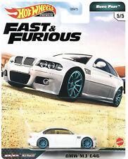 Fast furious real riders bmw e46  Neu OVP Hot Wheels  2020
