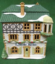 Dept 56 Alpine Village ~ E. Staubr Backer ~ Mint In Box 65404