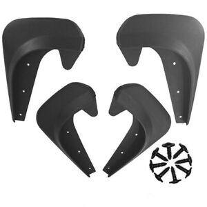 4x Universal Car Mud Flaps Splash Guards Mudflaps Mudgurads Fender EVA Plastic