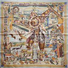 NEW in BOX ICONIC HERMES Tsitsika SILK SCARF by Kermit Oliver