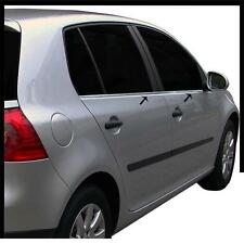 4 BAGUETTES VITRES INOX CHROME VW GOLF V 5 2003-2008 5 PORTES