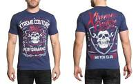 Xtreme Couture Men's Motor Club Tee Shirt Dark Navy