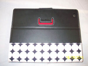 """Belkin Tablet Cover 10"""" Black with White or Purple Dots  NEW  Choose Color"""