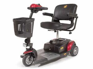 Buzzaround XL 3-Wheel Power Travel Mobility Scooter Golden Technologies GB117D