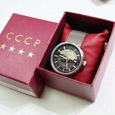 "CCCP ""Shchuka"" Automatic Herrenuhr, Glasboden - fast neuwertiger Zustand  51/53"