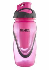 Thermos Hydro Active Sports Drink Water Drinking Bottle, 450ml, Pink - 027536