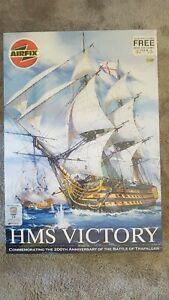 Airfix HMS Victory 1/100 Pre-owned Manufacturer sealed in shipment box.