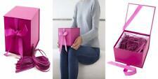 "Hallmark 7"" Large Gift Box (Hot Pink) for Birthdays, Bridal"