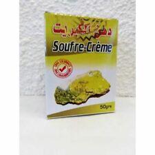 crème au Soufre 100% Naturelle  Sulfur Cream, Crema de Azufre
